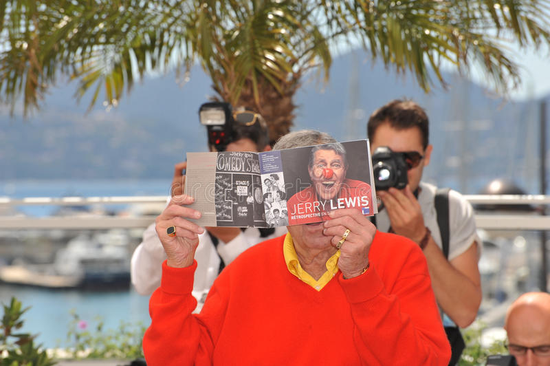 Jerry Lewis photographie stock