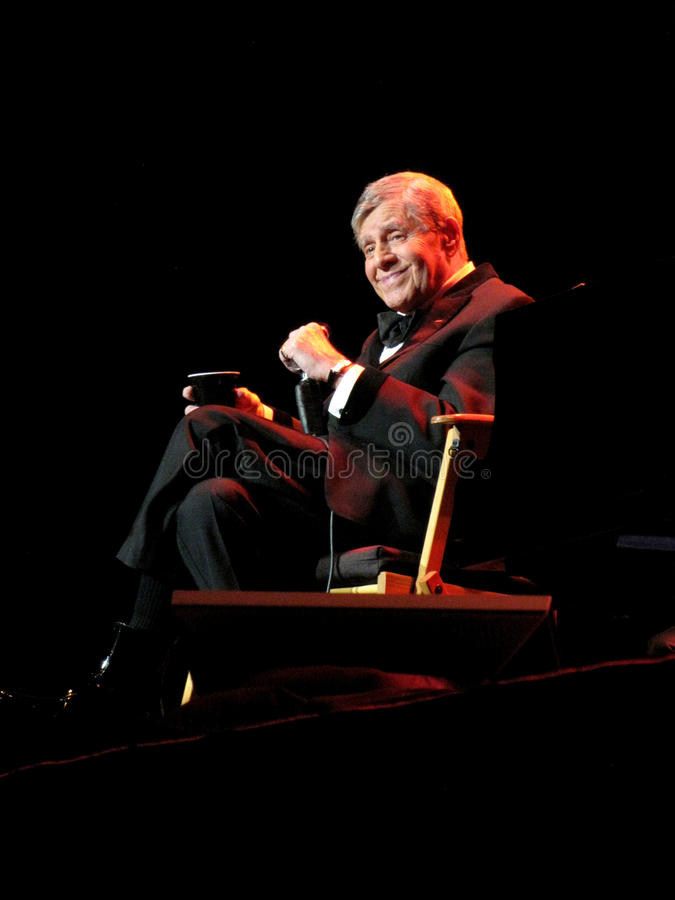 Jerry Lewis Live On Stage photo libre de droits
