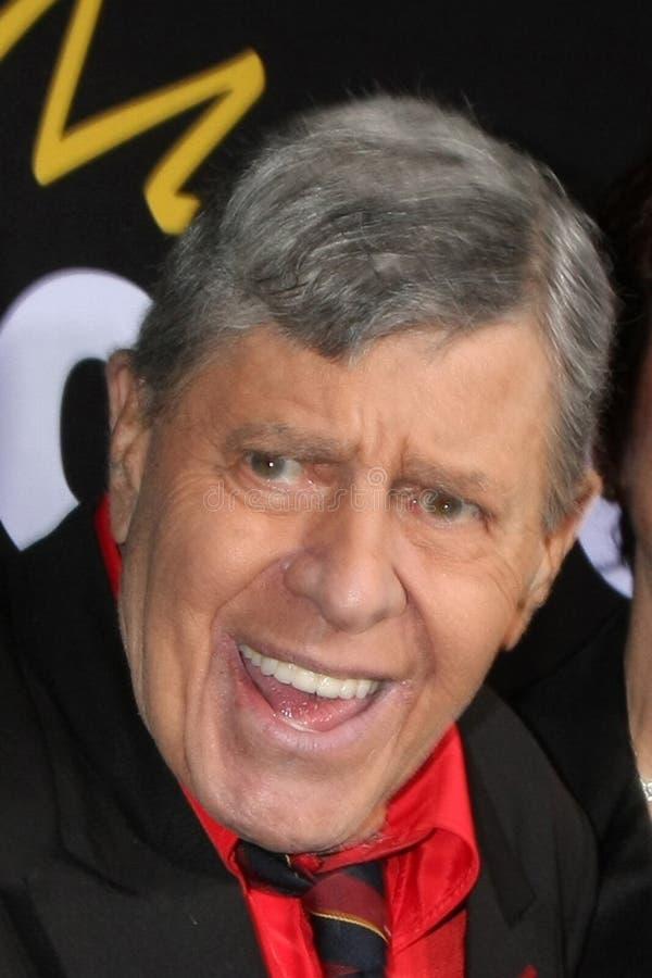 Jerry Lewis, loucura fotografia de stock
