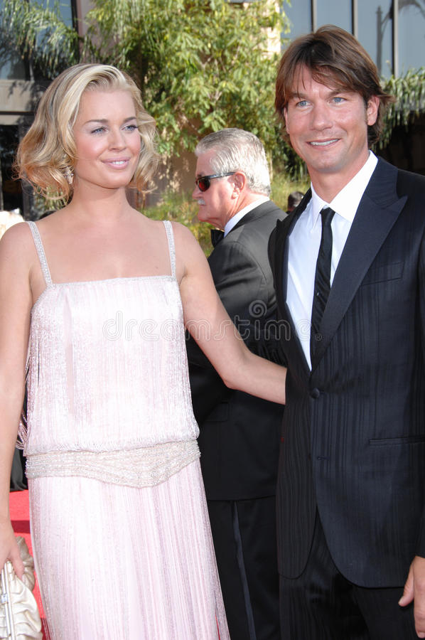Jerry O Connell,Rebecca Romijn Editorial Stock Image