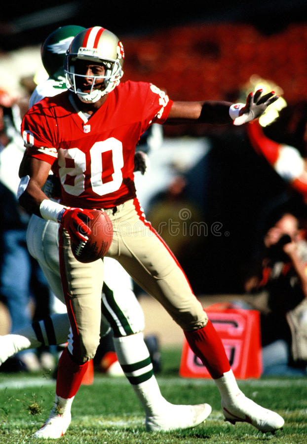 Jerry Rice royalty free stock photography