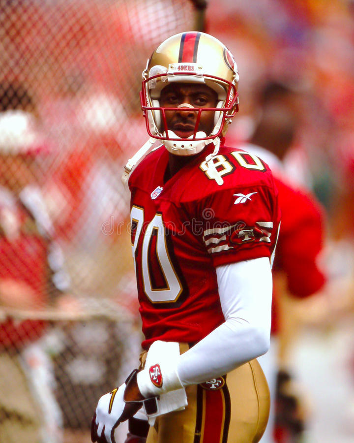 Jerry Rice fotografia stock