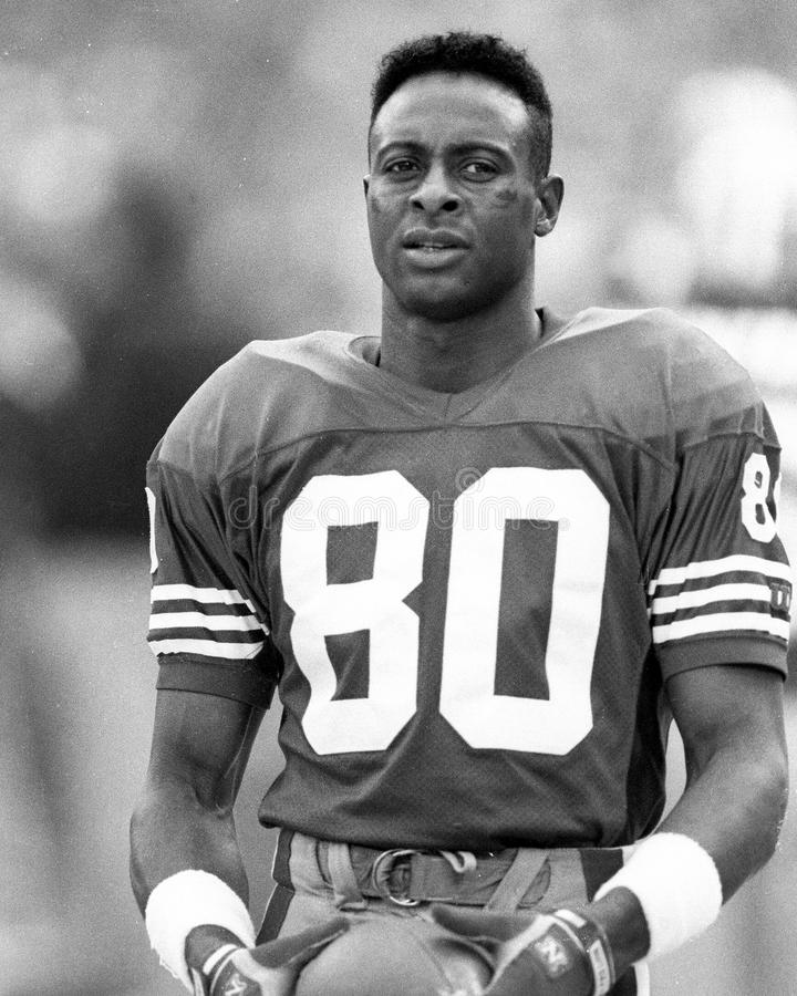 Jerry Rice immagini stock