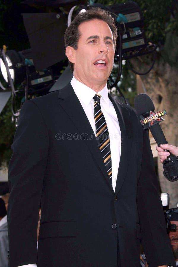 Jerry Seinfeld foto de archivo libre de regalías