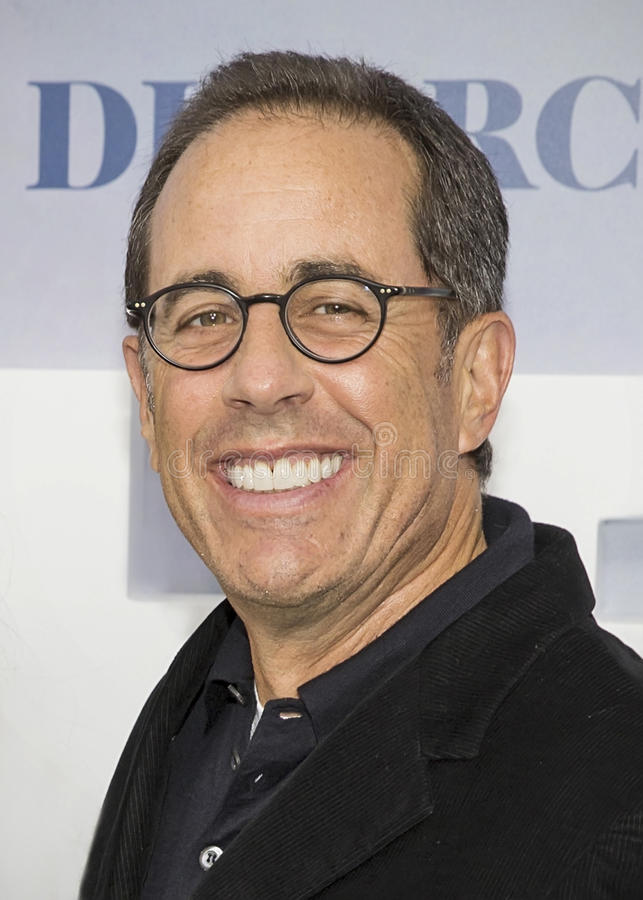 Jerry Seinfeld immagine stock
