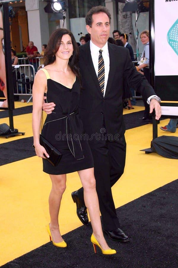 Jerry Seinfeld, Jessica Seinfeld imagen de archivo