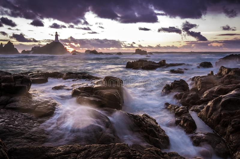 Long Exposure Sea View royalty free stock photography