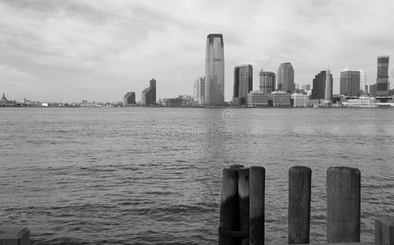 Jersey City Monochrome, New York royalty free stock photography