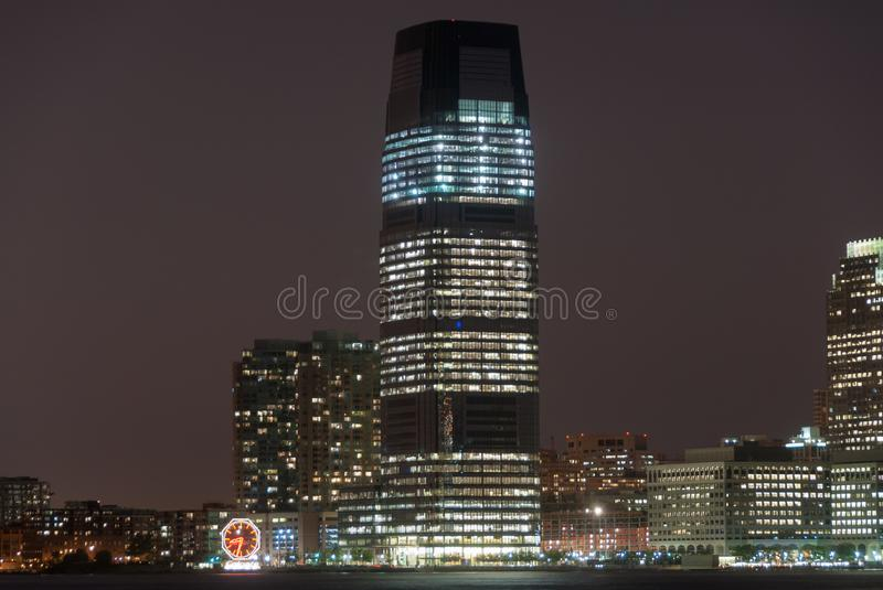 Goldman Sachs Tower - Jersey City, New Jersey stock photography