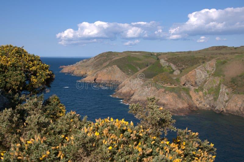 Download Jersey coastline stock image. Image of tourism, rocks - 14314621