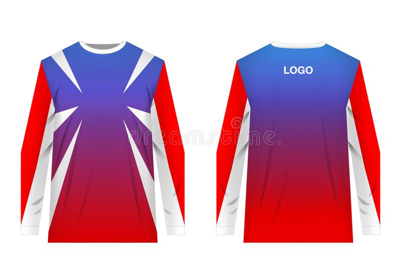 Jersey Design Sportwear Stock Vector Illustration Of Garment 116148147
