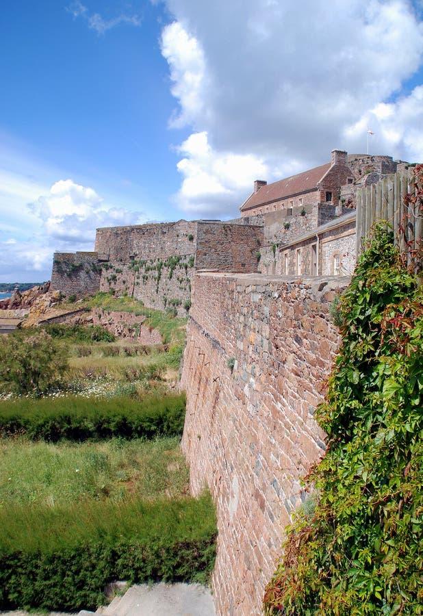 Jersey: Elizabeth-Schloss stockbild