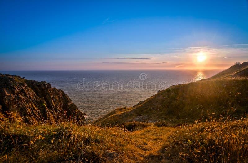 Jersey-Kanal-Insel Großbritannien stockfoto