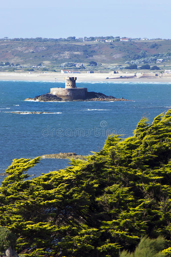 Free Jersey S St Ouen S Bay With La Rocco Tower Stock Image - 15678151