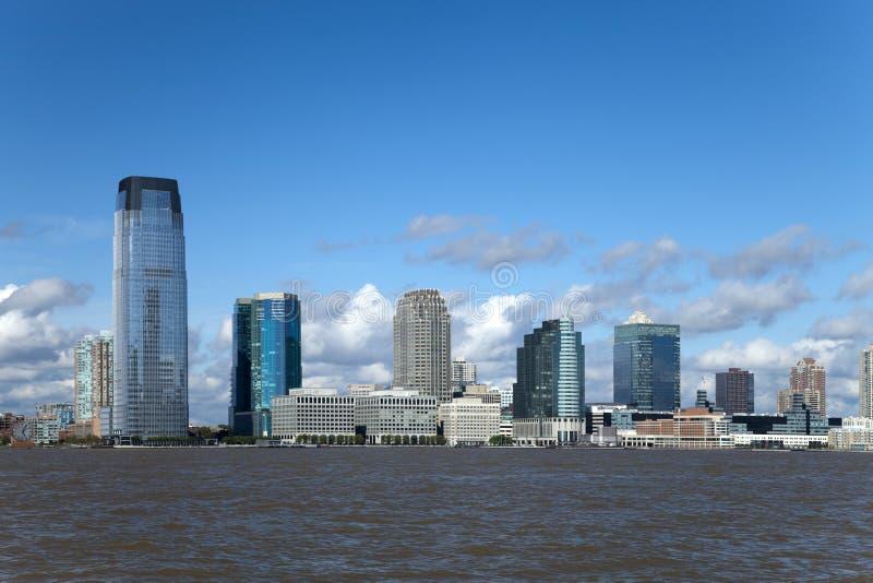 Jersey-Skyline lizenzfreies stockfoto