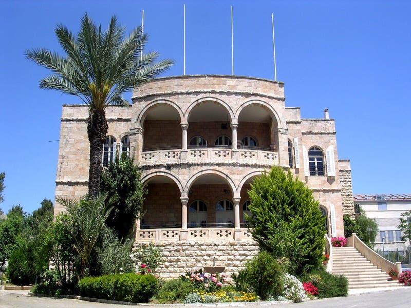 Jerusalém Christian Embassy April internacional 2005 imagem de stock royalty free