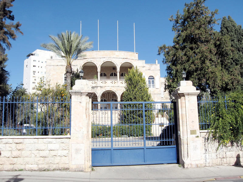 Jerusalém Christian Embassy internacional 2010 fotos de stock