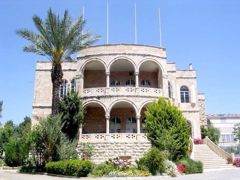 Jerusalém Christian Embassy internacional 2005 imagens de stock royalty free