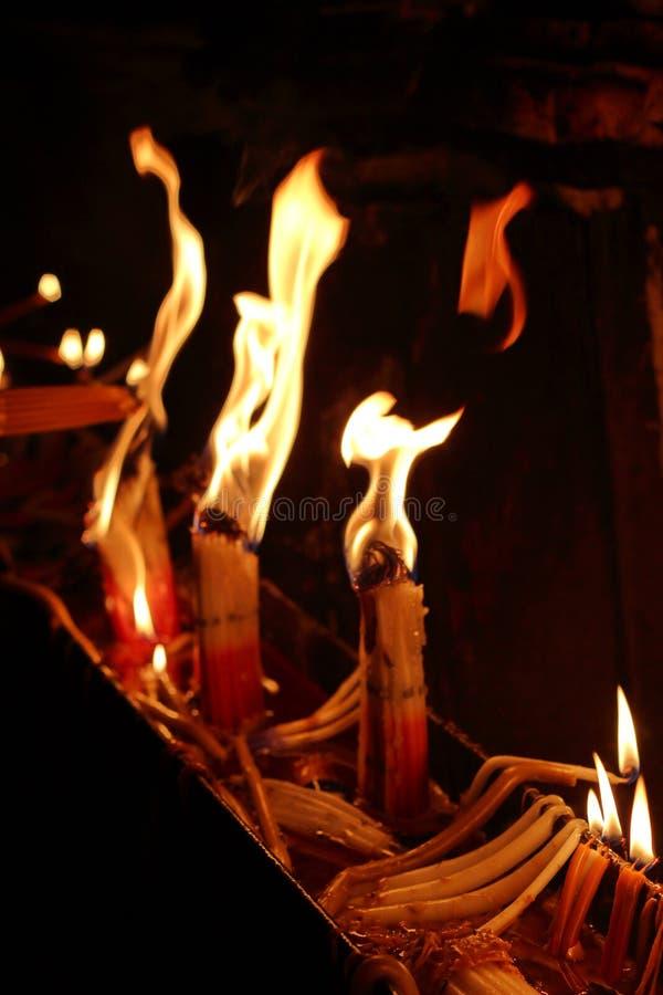 Jerusalém santamente do fogo fotografia de stock royalty free