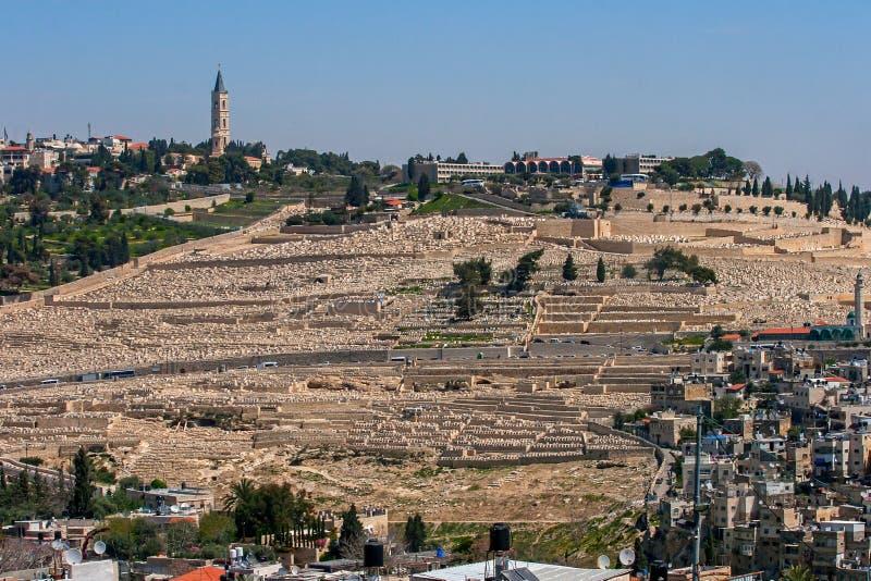 Jerusalén, Israel, vista de la ciudad fotos de archivo libres de regalías