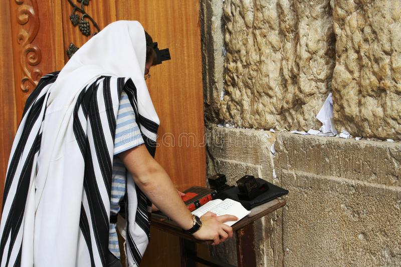 Jerusalén, pared occidental fotografía de archivo libre de regalías