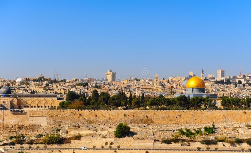 jerusalem royaltyfri bild