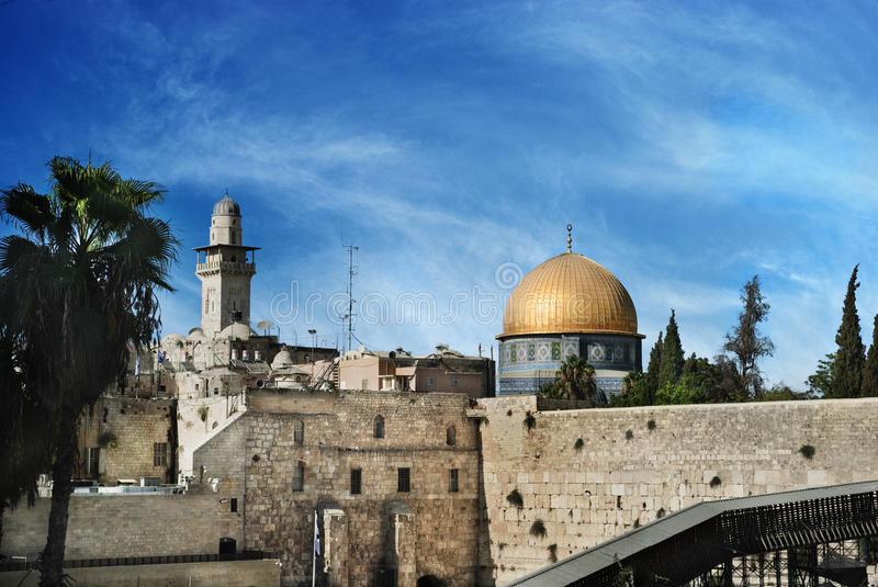 Download Jerusalem stock photo. Image of jewish, holy, islam, israeli - 26568732