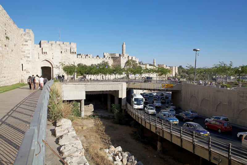 Jerusalem stockfoto
