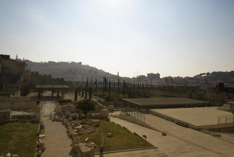 Download Jerusalem stock image. Image of dome, palestine, walls - 6240153