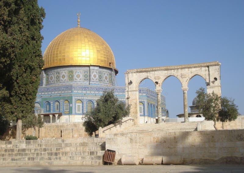 Jerusalem, Al--Aqsamoschee lizenzfreie stockbilder