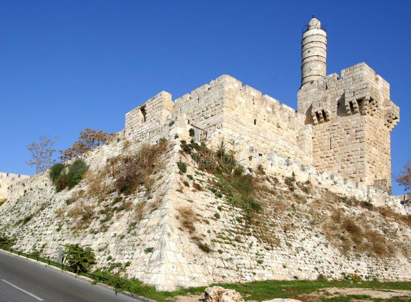 Jerusalem, alte Zitadelle stockbilder