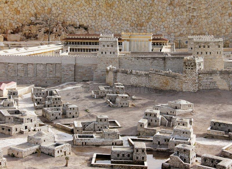 Jerusalem antigo. imagem de stock royalty free