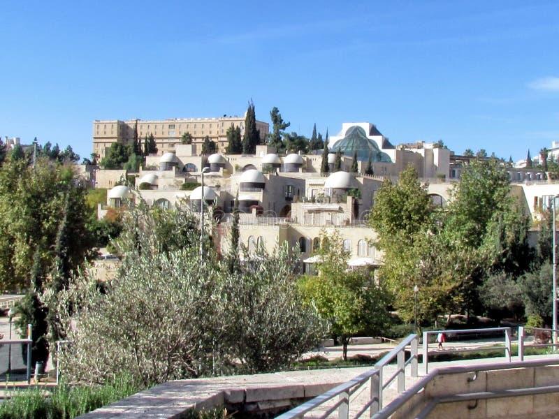 Jerusalem beautiful view from Jaffa Gate 2012 royalty free stock image