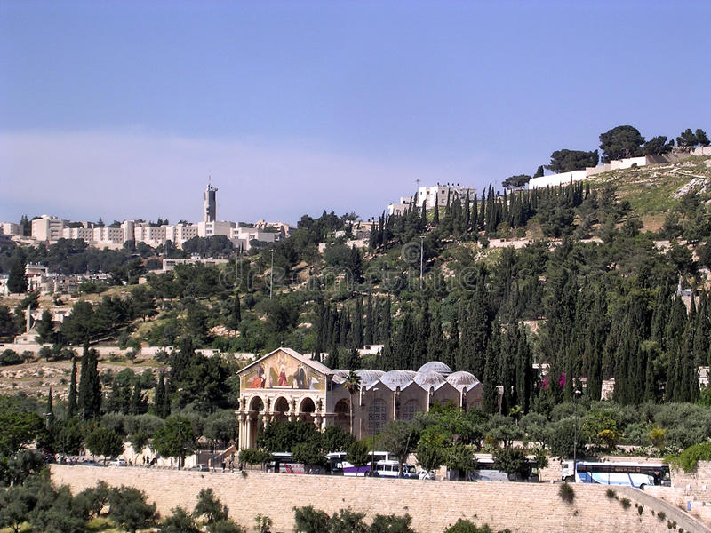Download Jerusalem Church Of All Nations April 2005 Stock Photo - Image: 83713636