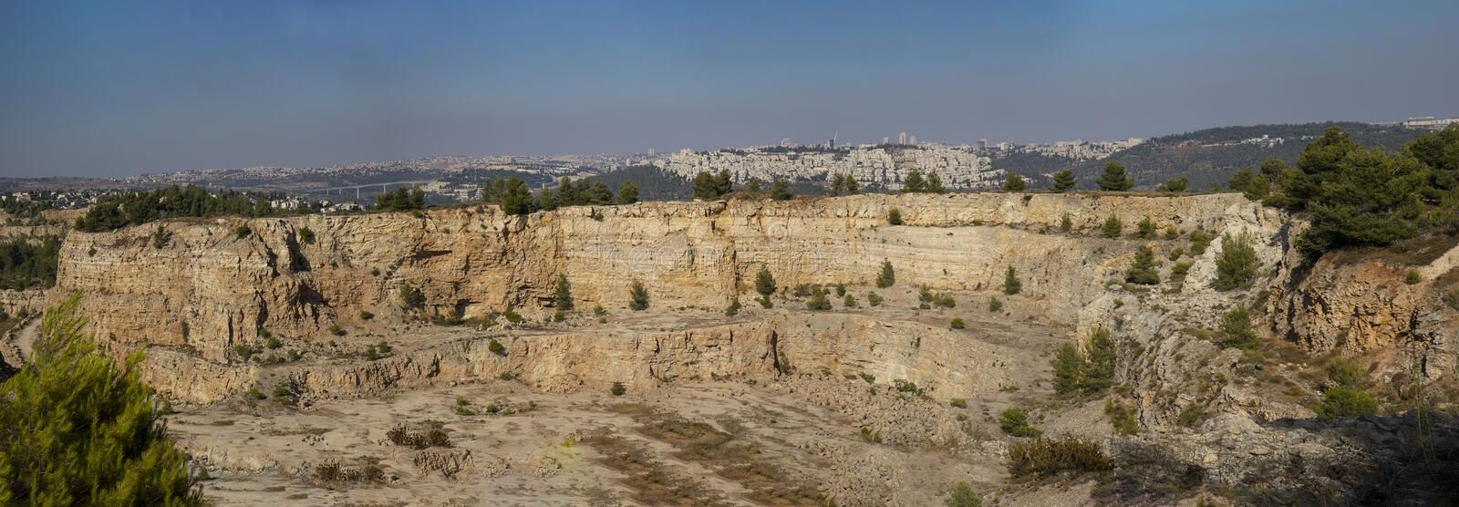 Jerusalem from a Different Angle royalty free stock images