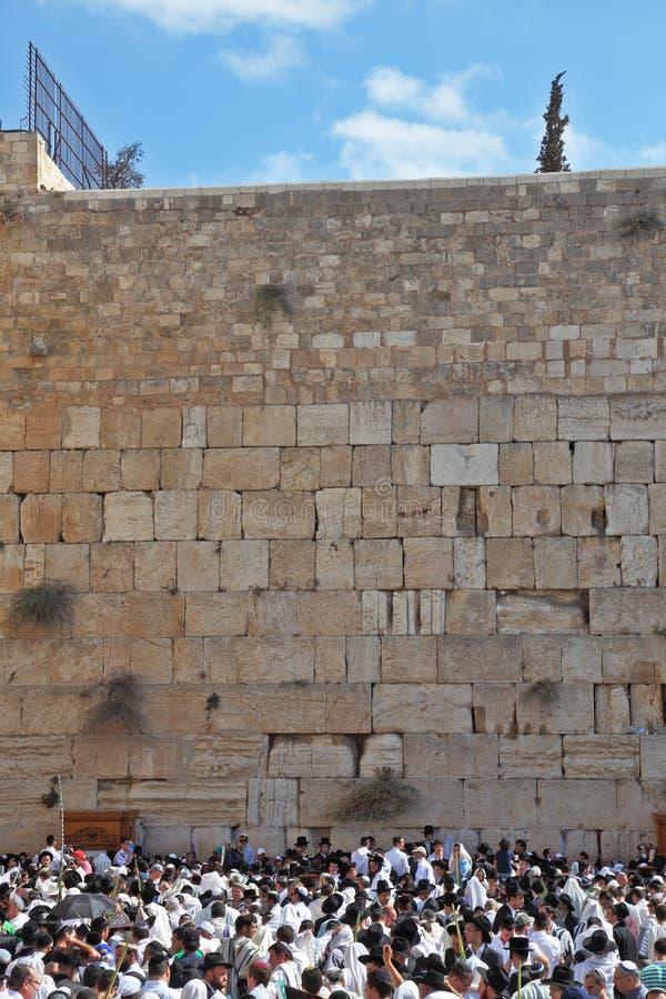 Jerusalem em Sukkot imagem de stock