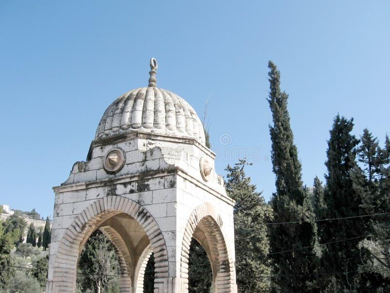 Jerusalem grav av Mujir al-buller 2008 royaltyfri bild
