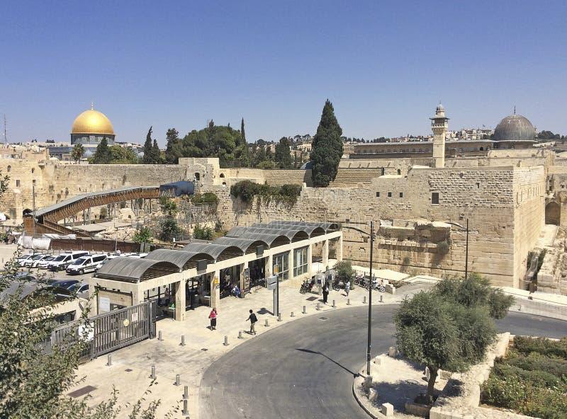 jerusalem israel imagens de stock