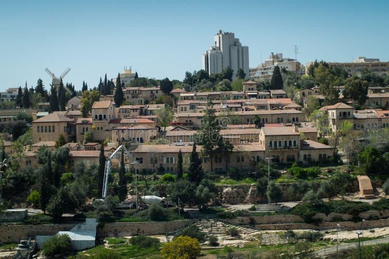 View of Jerusalem royalty free stock image