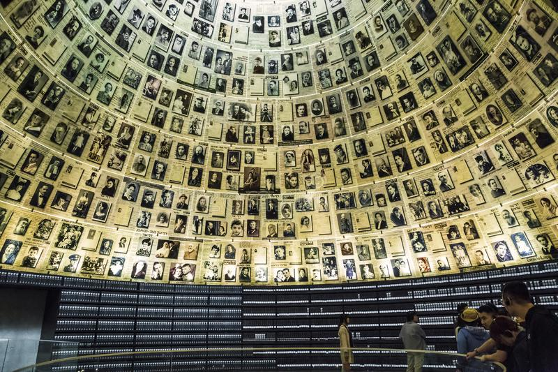 Yad Vashem - The Holocaust Memorial Museum in Israel royalty free stock image