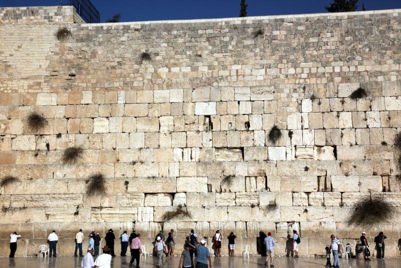 JERUSALEM, ISRAEL Wailing Wall lizenzfreie stockfotografie