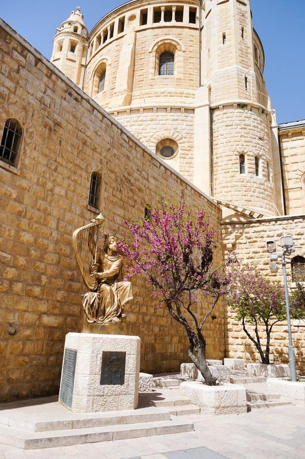 Jerusalem-Katholischkathedrale stockbilder
