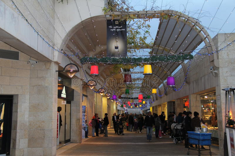 Jerusalem.  Mamila - new quarter