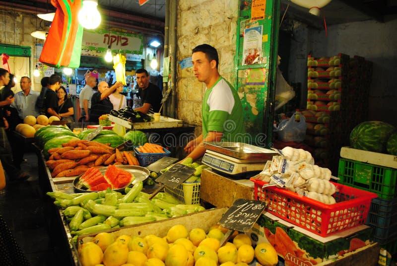 Jerusalem market stock photos