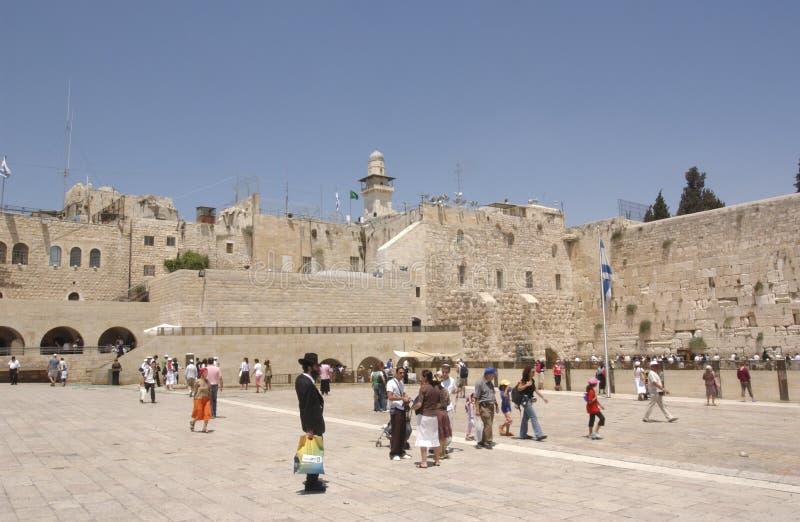 jerusalem monteringstempel royaltyfri fotografi