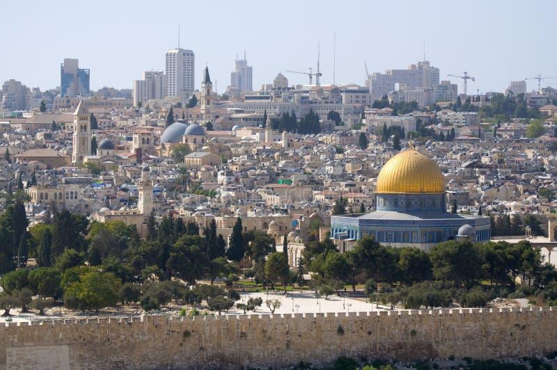 jerusalem muslim ćwiartka zdjęcie royalty free