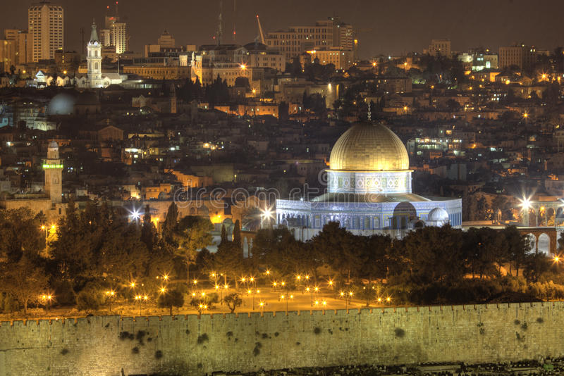 Download Jerusalem's night stock image. Image of religion, cracks - 21001773