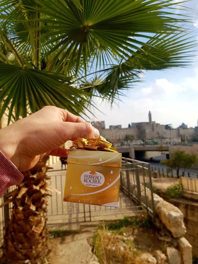 Jerusalem-Stadt lizenzfreies stockbild