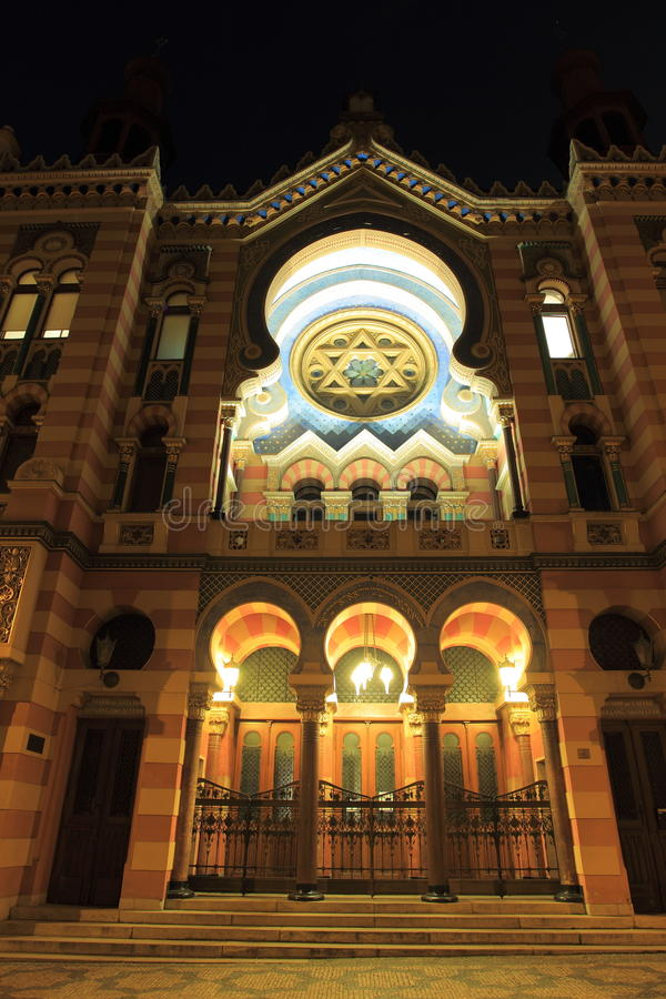 Download Jerusalem Synagogue In Prague Stock Image - Image: 28410741