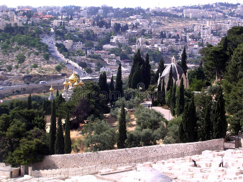 Download Jerusalem View From Mount Of Olives May 2005 Stock Photo - Image: 83713476